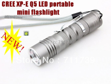 TK66 CREE XP-E Q5 LED Flashlight torch Portable Mini Flashlight cree led torch medical Flashlight For AA or 14500