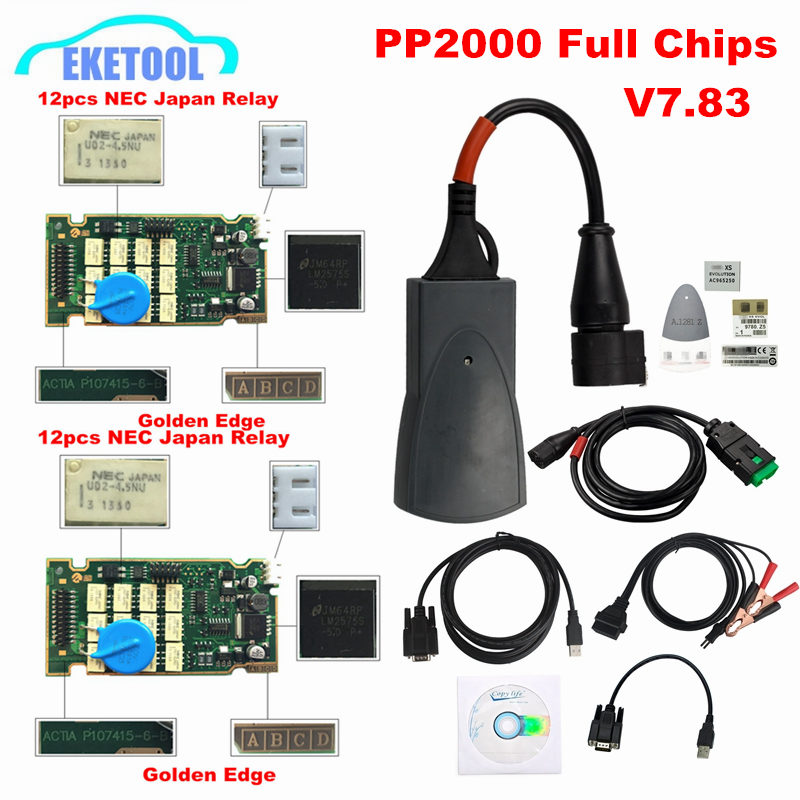 Professional Full Chips Lexia3 PP2000 Newest Diagbox V7.83 Golden Edge 12pcs Relay 7pcs Optocouplers Lexia PP2000 Lexia-3Professional Full Chips Lexia3 PP2000 Newest Diagbox V7.83 Golden Edge 12pcs Relay 7pcs Optocouplers Lexia PP2000 Lexia-3