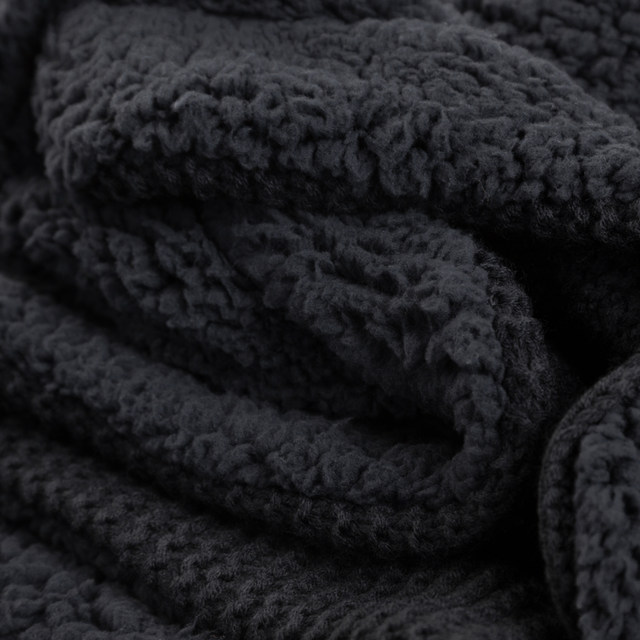 Online Shop Bedsure Knit Sherpa Throw Blanket Fuzzy Microfiber Impressive Bedsure Sherpa Blanket Throw Blankets
