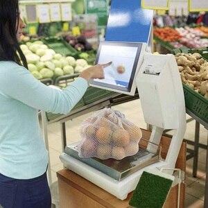 Image 3 - 9pcs/set Premium Organic Cotton Mesh Produce Bags Reusable Washable Storage Drawstring Bag for Shopping, Grocery,Fruit Vegetable