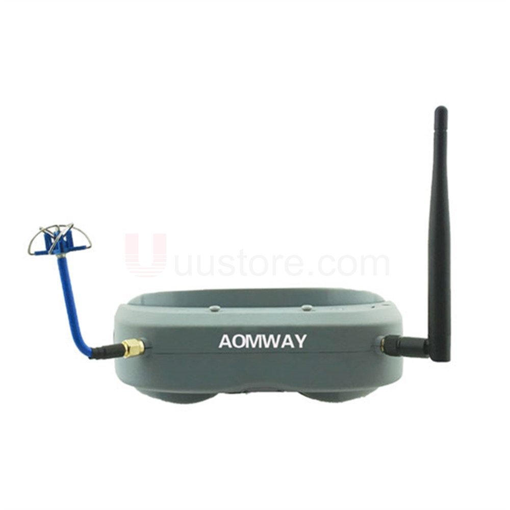 Aomway Commander FPV Goggles 40CH 5.8G 854*480 Resolution FPV Video Headset Glasses Support HDMI DVR Headtracker