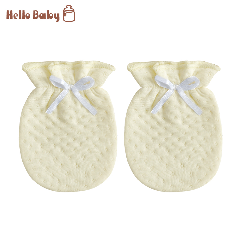 2Pair/lot Hot Sale Baby Anti-Scratch Mittens Gloves Boys Girls Breathable And Warm Infant Gloves Boys Girls Clothes Accessories.