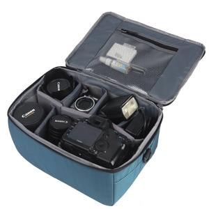 Image 3 - Su geçirmez dslr kamera Lens Çantası Ekleme Koruma Çanta Taşıma Tote Yastıklı Kılıfı Lens Kılıfı Canon Nikon Sony için