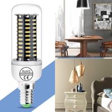 цена на Led Lamp E27 110V Bombillas Led E14 Candle Lamp 4014 SMD Spotlight Corn Bulb 7W 9W 15W 20W Home Led Light Energy Saving 85-265V