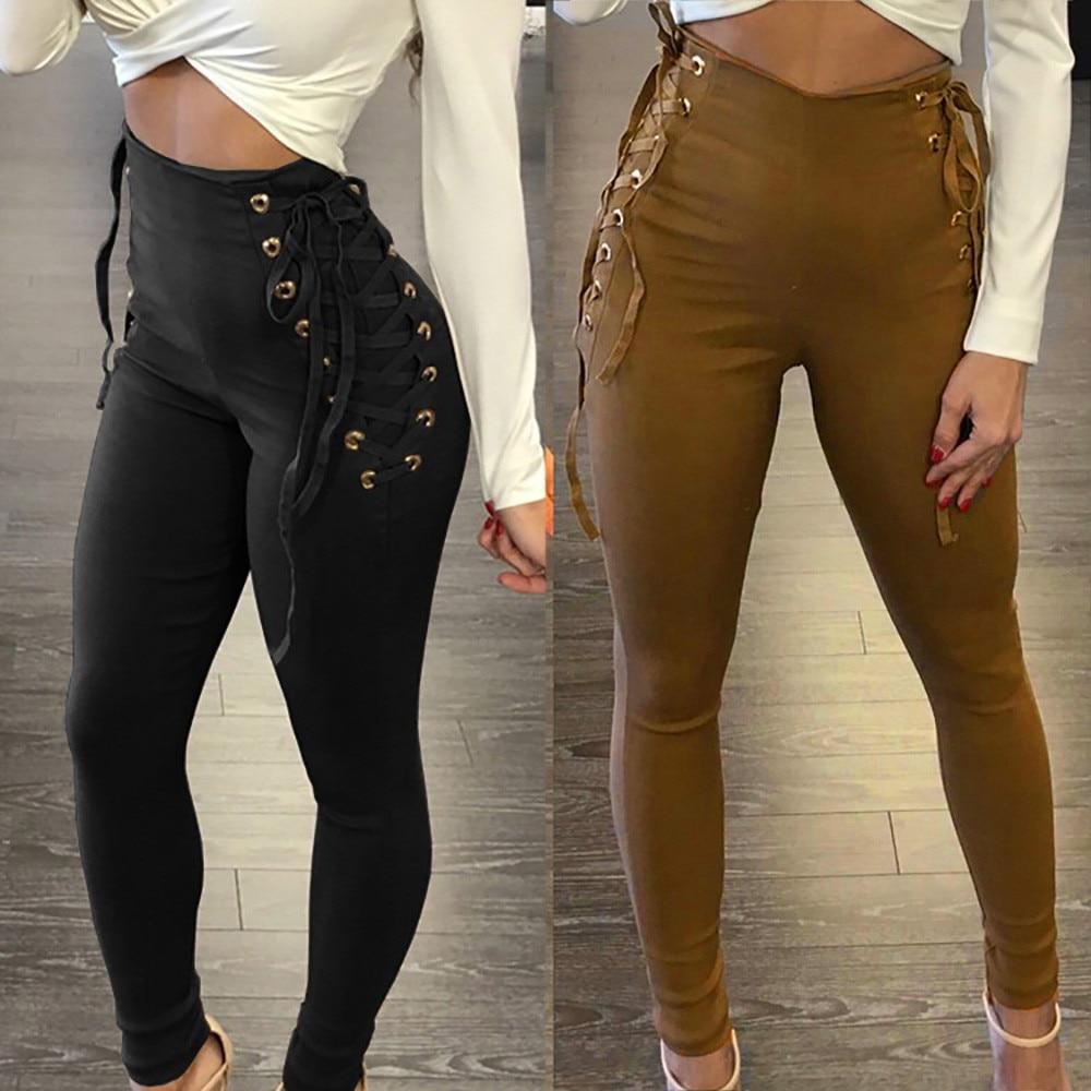 Legging-pantalon de taille crayon pour f ...