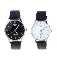 Classic Fashion Luxury Woman's Roman Number Quartz Electronic Leather Wrist Watch Wholesale #7071
