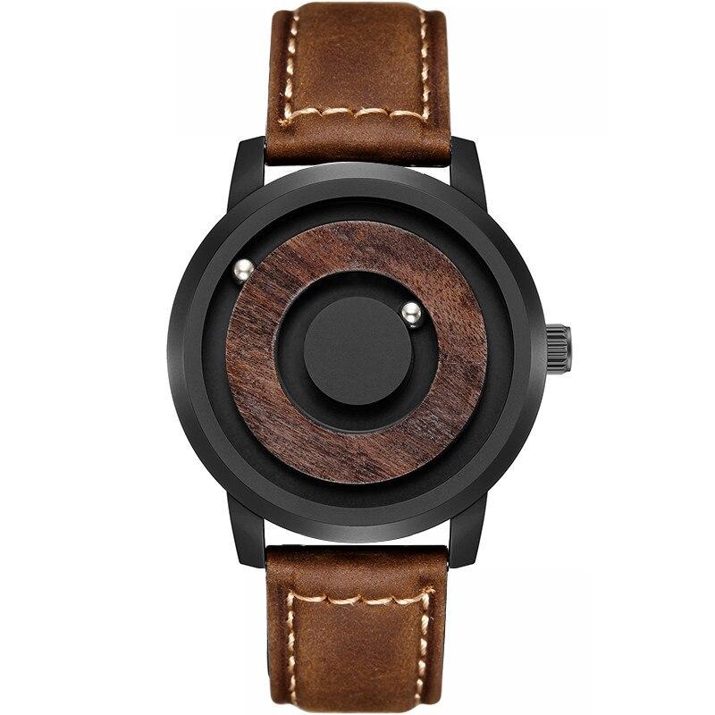 Montres à aimant MISS KEKE innovent 2019 montre à quartz pour mode décontractée pour hommes
