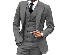 Men's Fashion 3 Pieces Men Suits Wedding Suits for Men Groom Tuxedos