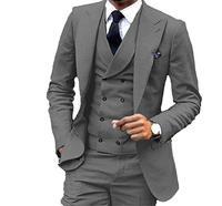Men's Fashion 3 Pieces Men Suits Wedding Suits for Men Groom Tuxedos