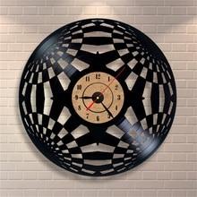 Antique Vinyl Record Clock European Style Large Decorative Quartz Wall Clock Living Room Art Watch Horloge