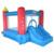 Yard quintal mini casa do salto castelo inflável slide bouncer inflável com ventilador