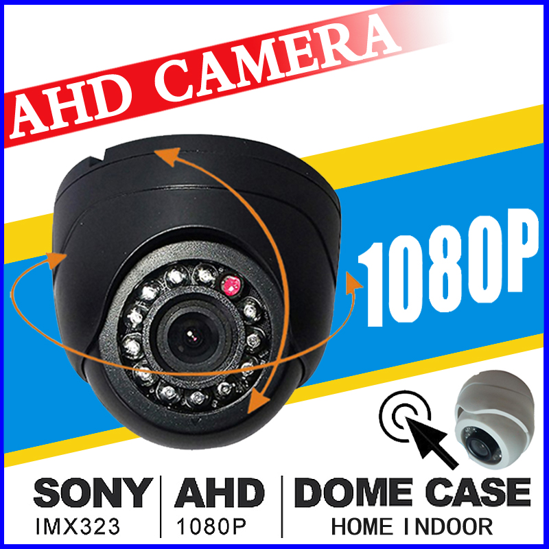 1/3SONY-imx323 read Mini Indoor Dome Hd Cctv Security digit AHD Camera 1080P 720P 960p IRcut 12LED Infrared Night Vision vidicon cctv surveillance ahd security 1080p 2 0mp hd dome camera system night vision 3 6mm lens cctv camera 24leds ircut for ahd dvr