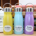 VILEAD 300ML Cute Portable Coffee Thermal Cup Flask Insulated Vacuum Stainless Steel Bottle Thermos Drinking Cup Travel Bottle