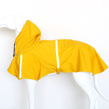 Five color waterproof dog coat Jacket Raincoat for dogs reflective raincoat clothes small medium large size S-5XL