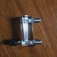 LZT-6T 1-10 Tipo Quadrado Do Painel de Gás LPM Fluxômetro Medidor De Fluxo De Ar rotameter LZT6T Ferramentas De Medição De Fluxo