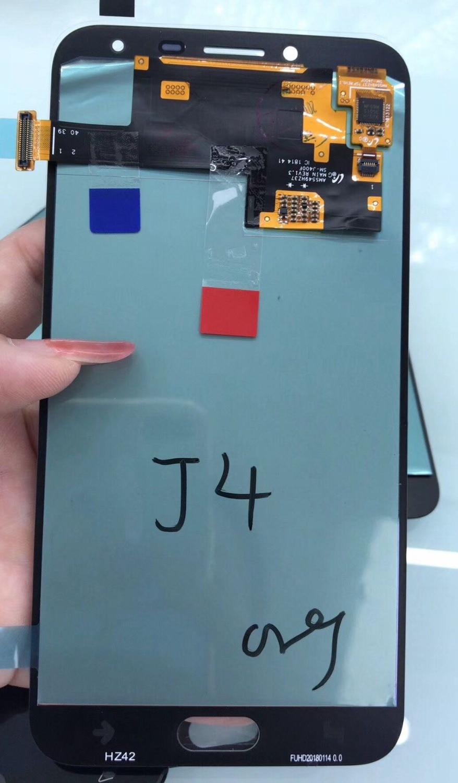Super Amoled Pour Samsung Galaxy J4 2018 J400 J400F J400F/ds J400G/ds Lcd Écran Affichage + Tactile verre Digitizer Assemblée Amoled