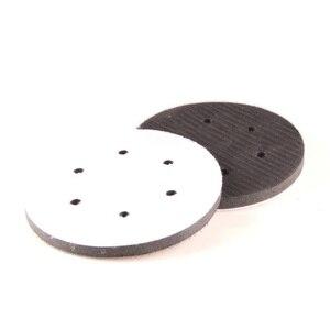 Image 4 - 1 個 2019 新 5 インチ 6 穴ソフトスポンジインタフェースサンディング用パッド 125 ミリメートル直径高品質カーケア