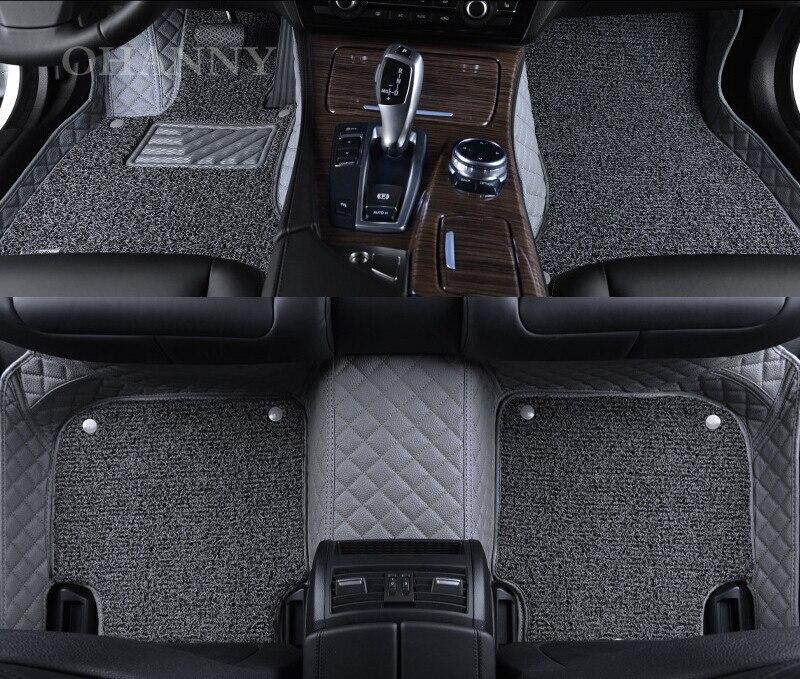 New High Quality OHANNY Custom Fit Car Floor Mats Case For