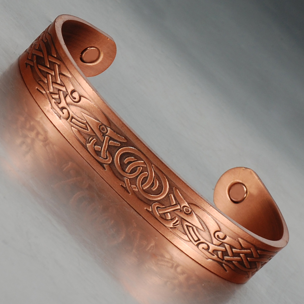 Aliexpress : Buy Wollet Cuff Men Anti Arthritis Rheumatism Magnets  Health Bio Magnetic Copper Bracelet Bangles Antique Copper Plated From  Reliable