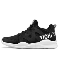 VIXLEO Casual Shoes 2017 New Men Casual Lace Up Fashion Brand Mesh Spring Summer Shoes Flats Solid Men Breathable Shoes