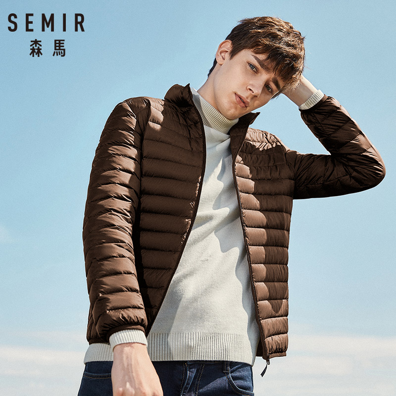 SEMIR 2019 Down Jacket Men Winter Portability Warm 90% White Duck Down Hooded Man Coat jaqueta masculino chaqueta hombre 9