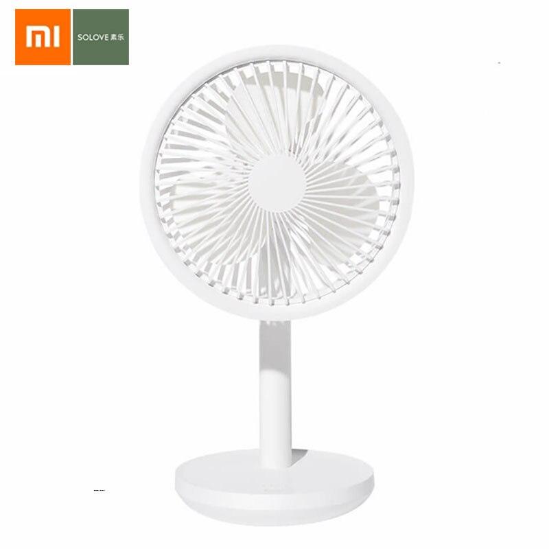 Original Xiaomi SOLOVE Desktop Fan F5 Type C Port Adjustable 3 Speed Wind Speed Travel Mini