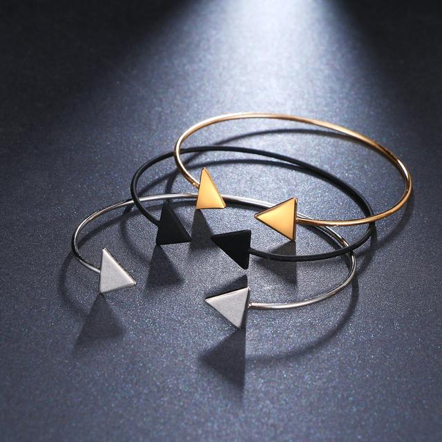 3 Color Punk Arrow Bracelets