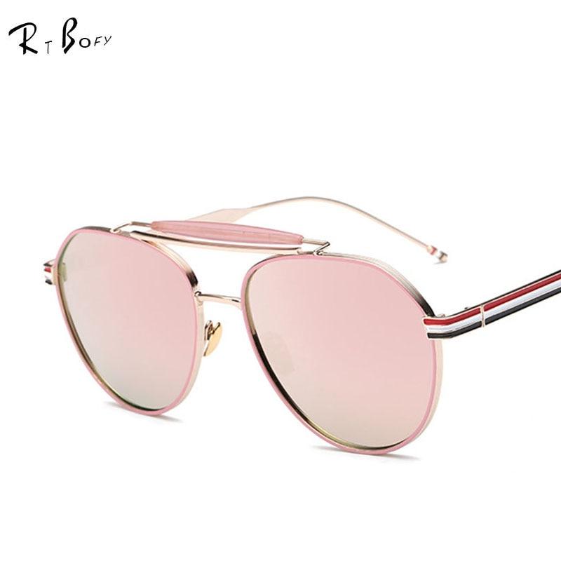 Unique Cat Eye Glasses Frame Vintage : RTBOFY 2016 New Cat Eye Aviator Sunglasses Women Vintage ...