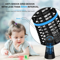 Pest repeller UV Light Electric Mosquito Killer lamp Killing Insect LED Bug Zapper Fly Lamp Trap Wasp Traps Pest Supplies Indoor