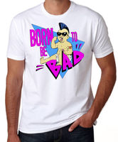 Fashion Unique Classic Cotton Cotton O Neck Short Sleeve Shirts Born To Be Bad Twins 80