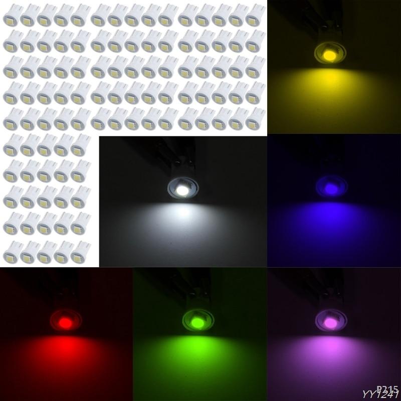 Hngchoige 1 шт. T10 <font><b>5050</b></font> 1 светодиодный <font><b>W5W</b></font> Авто Номерные знаки для мотоциклов свет лампы Ширина лампы на крыше