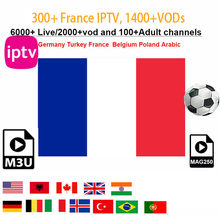 Stable France Iptv Portugal Spain Latino Morocco Subscription Dutch 4K M3u Enigma 2 Vod For Android Phone MAG Tv box Smart Tv(China)