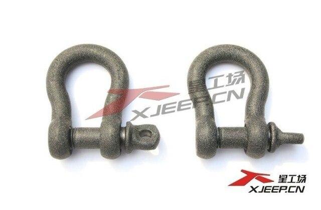 Эвакуатор крючки 4x4 бездорожье аксессуары для Wrangler JK Suzuki Jimny Toyota