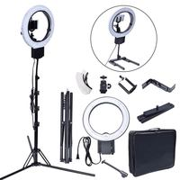 Studio 40W 5400K DIVA Ring Light With Tripod Stand Table Top Kit For Photography Camera Photo