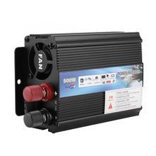 Przetwornica 12 V konwerter 220 V 100 V 500 W Power Inverter z panel słoneczny dla gospodarstwa domowego metalowe Power Inverter tanie tanio Aramox NONE CN (pochodzenie)