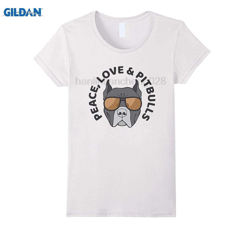 Возьмите мир, Love & Питбулей-Симпатичные очки Футболка