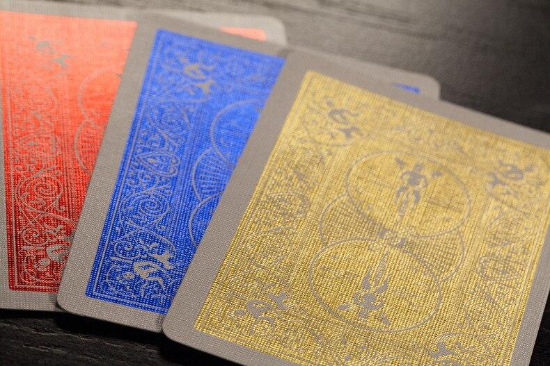 de Luxo Cartões de Truques de Mágica Adereços Magia