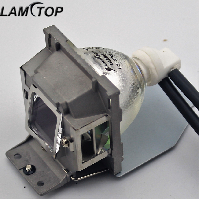 LAMTOP Replacement lamp with housing/cage RLC-055 for PJD5211/PJD5122 lamtop original lamp with housing cage dt01022 for ed x24