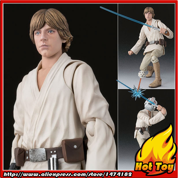 100% Original BANDAI Tamashii Nations S.H.Figuarts (SHF) Action Figure - Luke Skywalker (A NEW HOPE) from