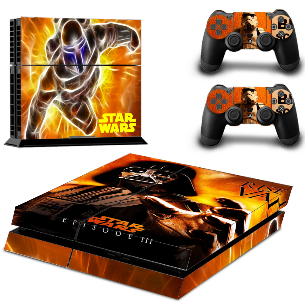 Vinyl Decals Skin Sticker Cover For Ps4 Playstations 2 Controllers Sticker Star Wars Episode Iii Revenge Of The Sith