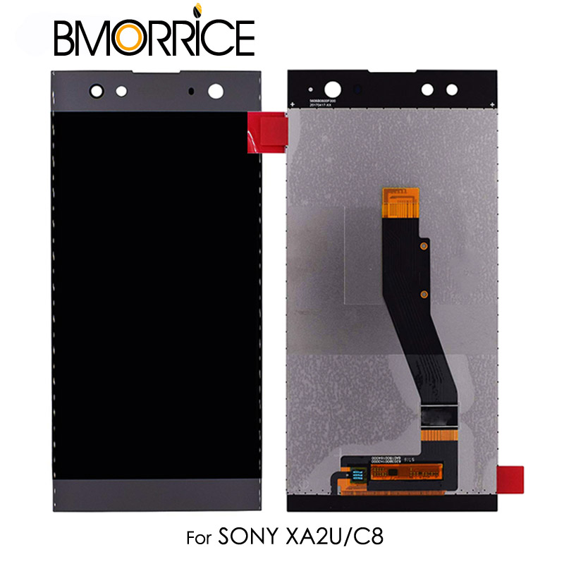 Original LCD Display For Sony Xperia XA2 Ultra C8 H4233 H4213 H3213 H3223 Touch Screen Digitizer Full Assembly Black No Frame in Mobile Phone LCD Screens from Cellphones Telecommunications