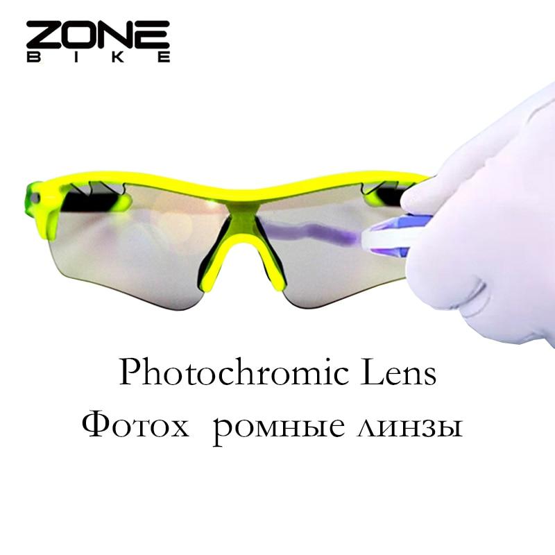 134ce4589e ZONEBIKE Photochromic Polarized Sport Glasses Cycling Eyewear Bicycle  Goggle Fishing Mountain Bike Sunglasses Men Women 6 Lenses-in Cycling  Eyewear from ...