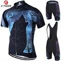 X tiger Pro letnia odzież rowerowa zestaw koszulek rowerowych MTB Ropa Ciclista Hombre Maillot Ciclismo wyścigi ubrania do jazdy rowerem zestaw rowerowy w Zestawy rowerowe od Sport i rozrywka na