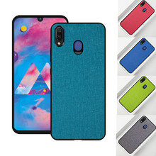 For Samsung A70 case A90 A80 A 40 30 20 10 back cover Cloth Fabrics protective capas Shockproof for Galaxy 60 A60