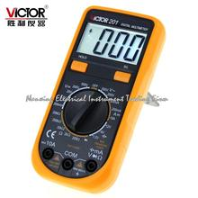 Fast arrival VC201 VICTOR 201 handheld mini Digital Multimeter