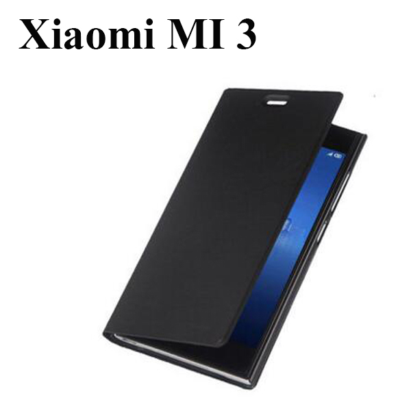promo code ef4b5 0cdb4 Original M Xiaomi mi3 m3 Case high quality flip PU leather Fashion ...