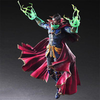 Doctor Strange Play Arts Kai Action Figure Avengers Infinity War 260mm PVC Collection Toy Avengers Ironman Thanos Play Arts