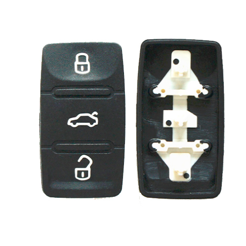 Free shipping (10pcs/lot) 3 button rubber pad for vw remote key with good quality женская цепь магия золота золотая цепочка mg41467 60