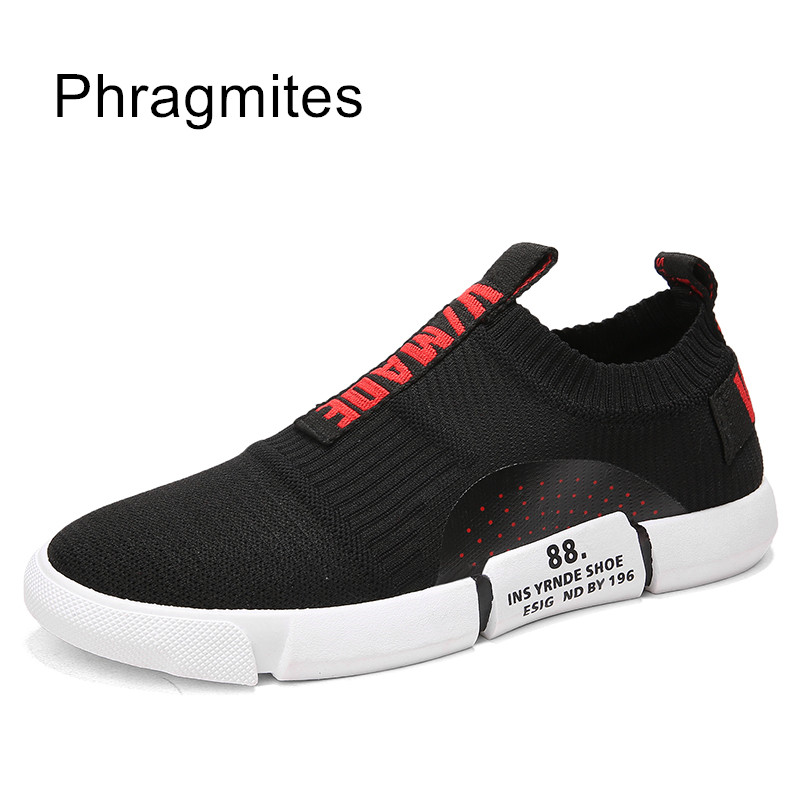 Phragmites Summer Breathable Flyknit Men Casual Shoes Shoes Sneakers Breathable Sport Outdoor