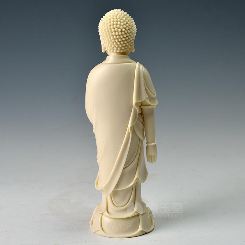 Dai Yutang Dehua porcelain master Lin Jiansheng master of art State Lotus Buddha D03 220 in Figurines Miniatures from Home Garden